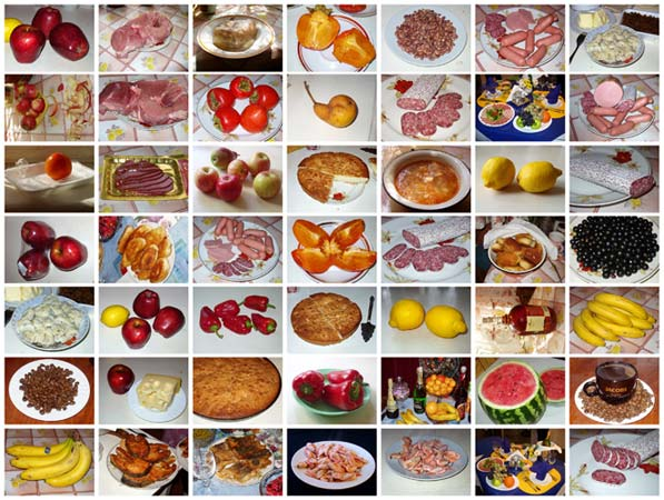 Photo clipart Food by Veronika Surovtseva. Demo tiles