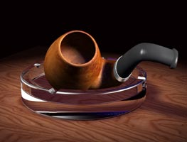 3D model of a pipe